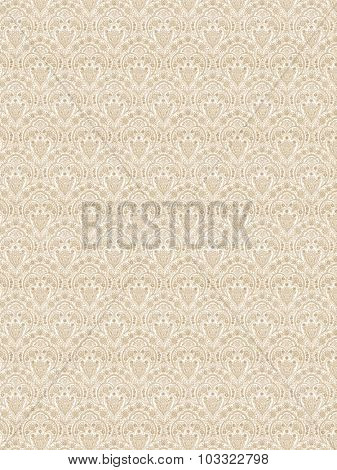 Abstract floral and ornamental damask background