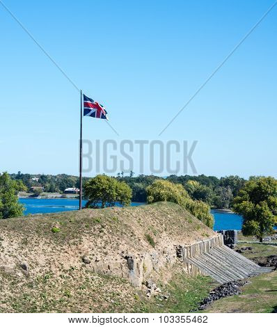 British Fort At Crown Point