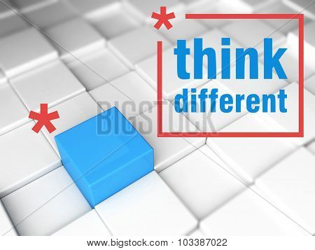 Think Different, One Unique Leader