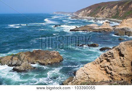 Bodega Head Peninsula And Coast
