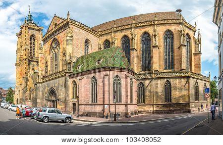 St. Martin Church In Colmar