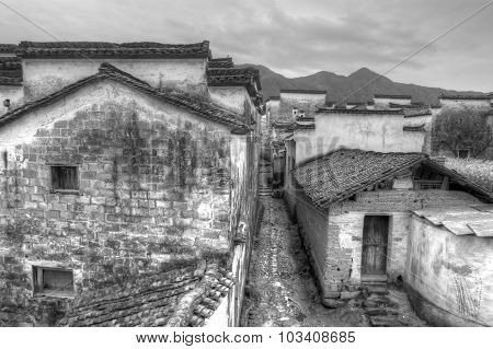 Ancient buildings in China