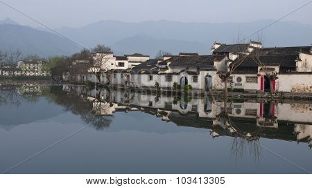 Hongcun, Ancient village in south China.