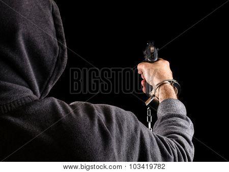 Dangerous Prisoner Fugitive With A Gun