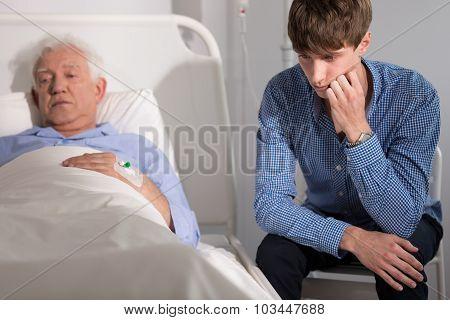 Mentaly Broken Elder Patient