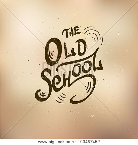 old schol