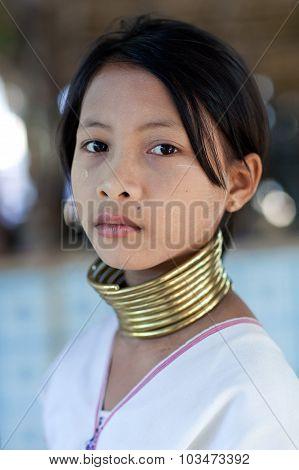 Padaung Tribe People, Myanmar
