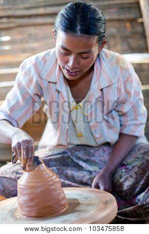 Potter, Myanmar