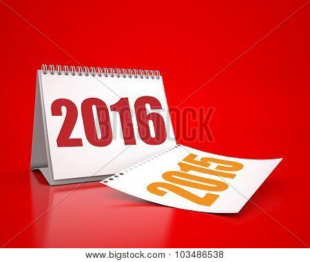 Calendar 2016 And 2015