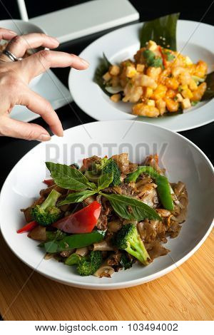 Thai Food Stylist