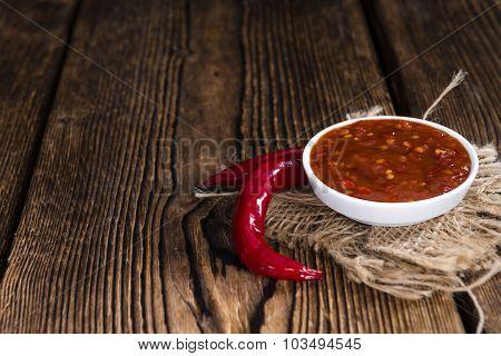 Fresh Made Chili Sauce (sambal Oelek)