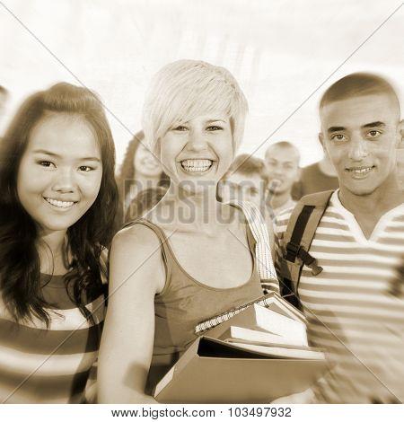Students Diversity Learning Education Knwoledge Happiness