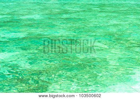 Green Sea Water