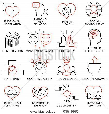 Vector Set Of 16 Icons Related To Business Management - part 19