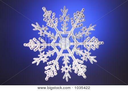 Pretty Christmas Snowflake