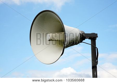 Megaphone public address system