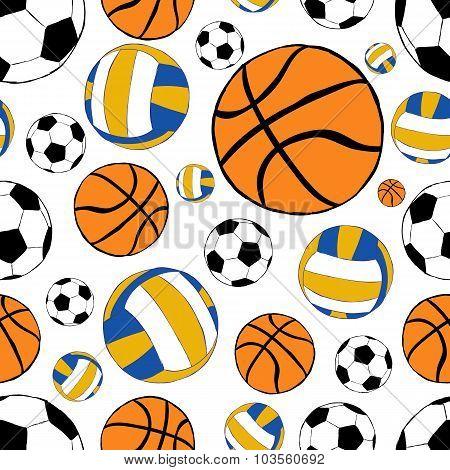 Seamless sports balls