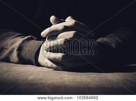 Hands Of Praying