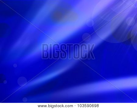 Blue Abstract Gradient Background