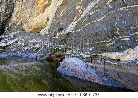 Tanque Verde Falls Canyon Walls