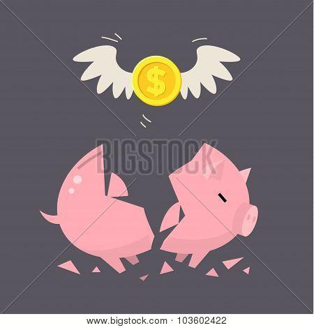 Piggy Bank concept