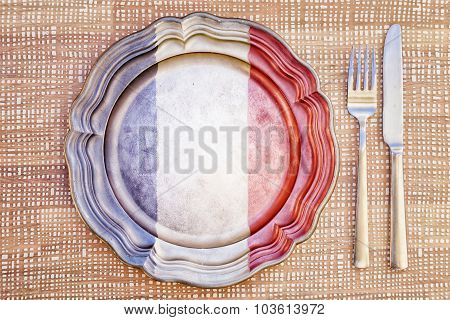 French Cuisine Concept