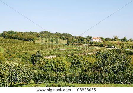 Landscape Near Gracisce