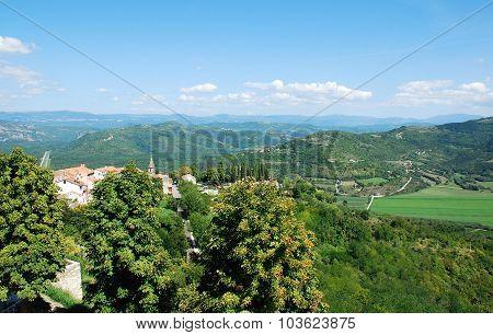 Landscape Near Motovun
