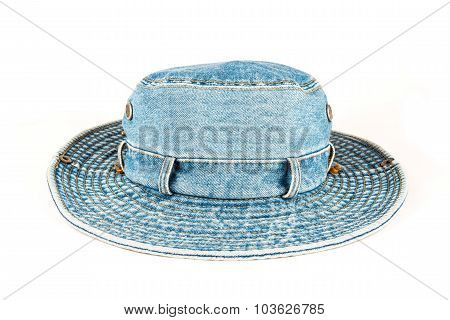 Denim Hat Isolated