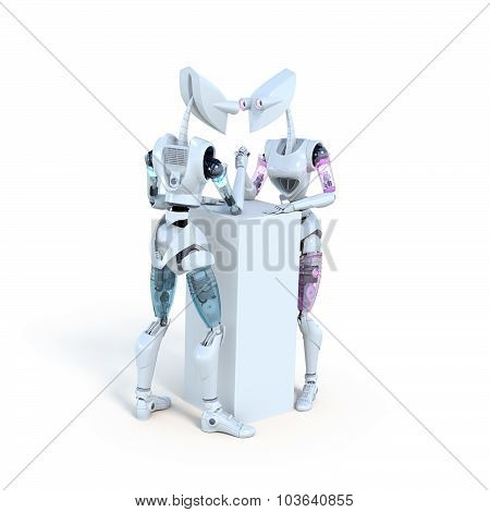 Arm Wrestling Robots
