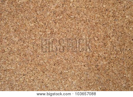Image Of Sheet Brown Cork Texture,background.