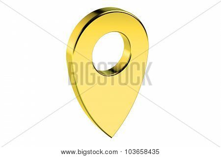 Golden Map Pointer
