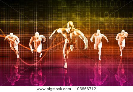 Business Communication and Mobility on Digital Art