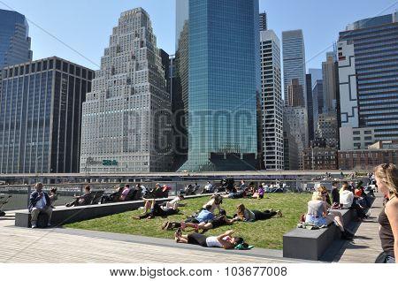 South Street Seaport in Manhattan, New York