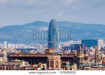 Barcelona. Agbar Tower.