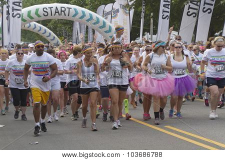 Start Of The Color Run