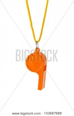Whistle - isolated on white background