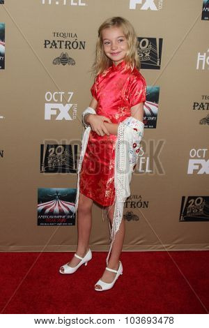 LOS ANGELES - OCT 3:  Shree Grace Crooks at the