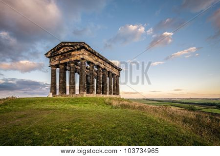 Penshaw Monument Dominates The Wearside Skyline