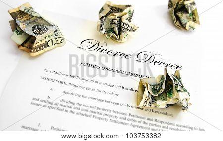 Divorce Decree Cash