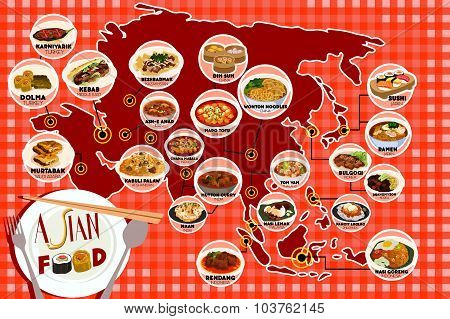 Asian Food Infography