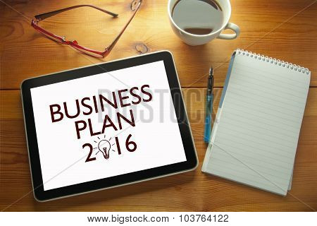 Business Plan 2016