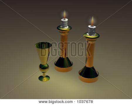 Candlesticks & Bokal