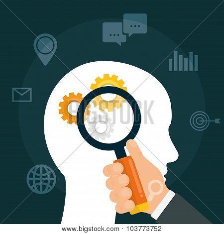 SEO Search Engine Optimization design, vector illustration. poster