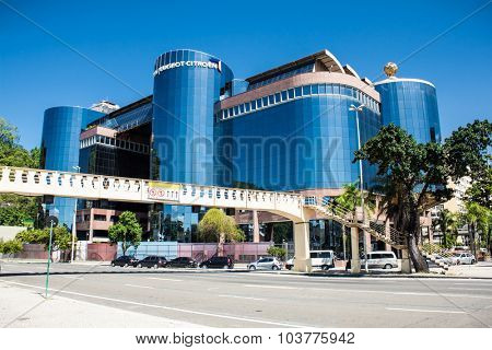 RIO DE JANEIRO - APRIL 28, 2015: Centro Empresarial Mourisco in  Botafogo on April 28, 2015,  Rio de Janeiro ,State of Rio de Janeiro ,Brazil.