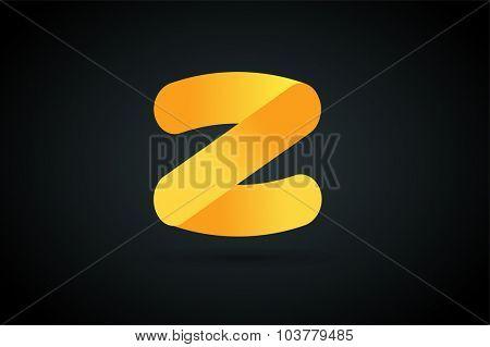 Abstract Z character vector logo icon monogram. Power z vector, z letter logo, web studio, design studio, round shape,z logo icon, company z logo, abstract logo, design element, creative idea. Company