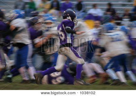 Football Abstract Blur