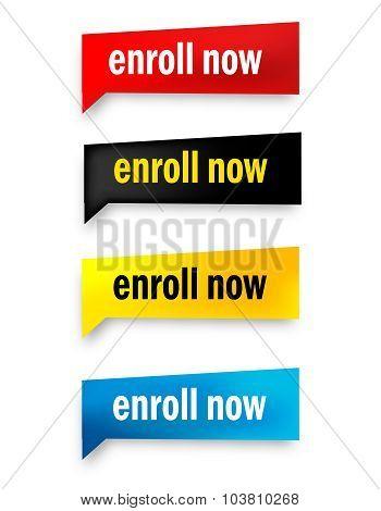 Enroll Now Button