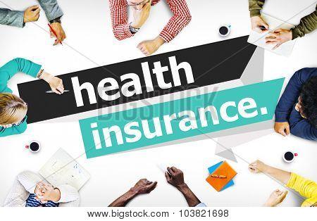 Health Insurance Protection Risk Assessment Assurance Concept poster