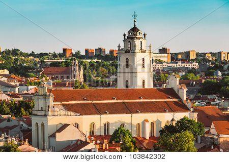 Sts Johns' Church  - Sv. Jonu baznycia in Vilnius, Lithuania